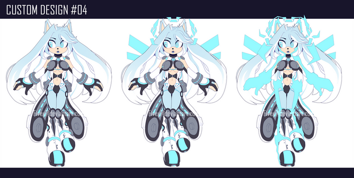 Custom Character - Cyber Angel by Fivey