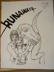 Runaways Chase, Gertrude, O.L. by TonCol