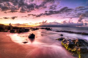 Hawaii, drink and watch the sunset  422 by alierturk
