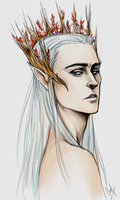 Thranduil by LiaBatman