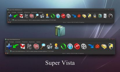 Super Vista WinRAR theme by alexgal23