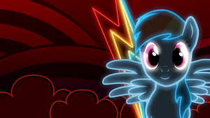 Rainbow Dash Wallpaper by AllicornUK