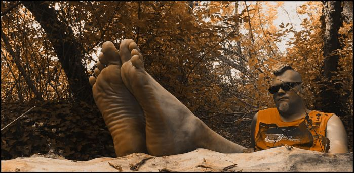 Barefoot in the Forest II x by talpimado