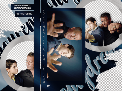 Photopack David Mazouz and Sean Pertwee by youremyonlydream