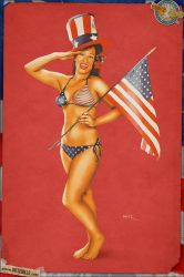 Pinups - Red Patriot by warbirdphotographer