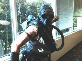 Kabal Costume cosplay by kiloskree