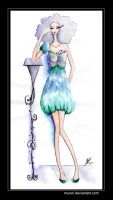 Butterfly Dress 2 by Muoni