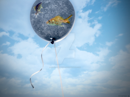 Airland for a Goldenfish by schiz00phrenia