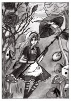 Alice in Scaryland. by Sasha2525
