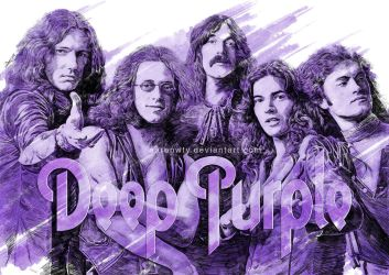 Deep Purple 50th anniversary tribute by aaronwty