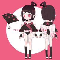 Black Blossoms AUCTION | CLOSED by tokban