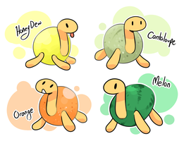 Shuckle Variants