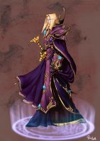 Young Prince Kael'thas by pulyx