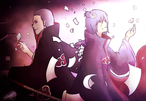 Hidan X Konan Request by JeiGoWAY