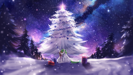 MLP C: Winter Dream by AquaGalaxy