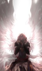 GBF - These wings are too white for me by Miyukiko