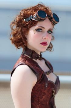 Steampunk Lady by MarcoFiorilli