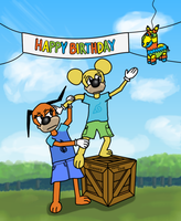 Toontown Birthday by corrosiwatt