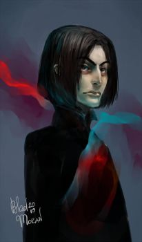 Young Snape by BladMoran