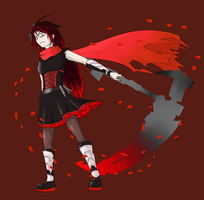 Request: [AU Future Ruby Rose] by Lightning-in-my-Hand