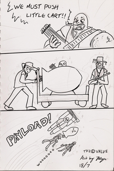 Inkd: Playd Too Much TF2 by xychojack
