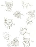 BCB characters by Shapoodle4u