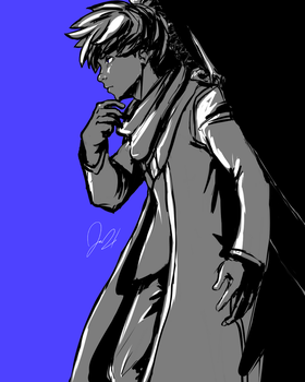 Jack in Persona 5 style by JAM3RSON