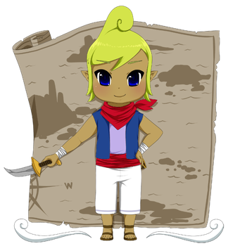 Tetra, Captain of Adventure by Icy-Snowflakes