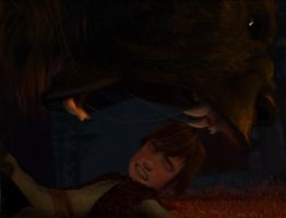 Hiccup-Fear by Hinodahime
