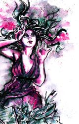 Persephone goddess of curses by conichic