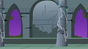 MLP Ancient Castle Chamber by pageturner1988