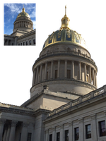 WV State Capitol Building Png Stock by DLR-Designs