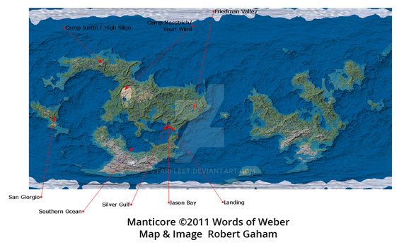 Manticore Planetary Map Labeled by starfleet