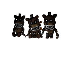 Cinema4D The Freddles! by GaboCOart