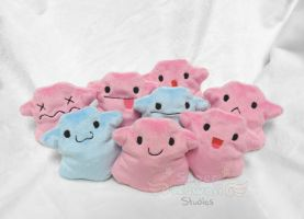 Ditto Beanie Plushes