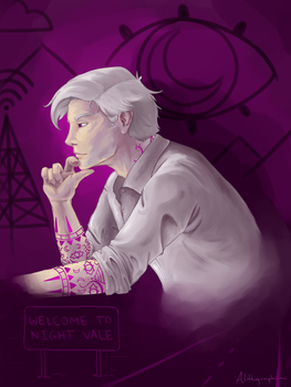 Welcome to Night Vale - Cecil by Alithographica