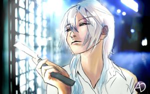 Makishima / Psycho Pass Fanart by avenirdesign