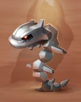 Steel Steelix by axolotldesign