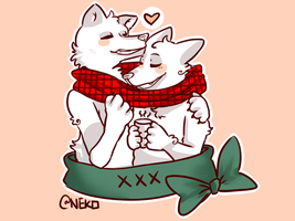 Anthro Scarf Share YCH Unlimited (OPEN ) by PartiiNeko
