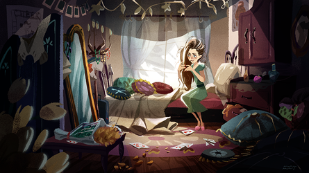 Messy Room by Kinopia