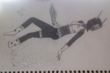 old drawing x) by riiatriss