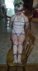 Helpless chair tied by evilryn