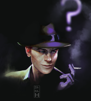 Riddler 04 by perditionxroad