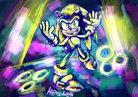 GET READY TO PARTY - Sonic 25th party by 7marichan7