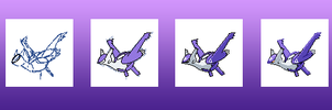 Mega-Latios sprite stages by Bestary