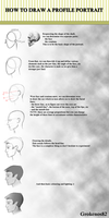 Tutorial: Profile Portrait by Grokenos82