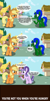 Nickers Satisfies. So do muffins. by HyperDashPony