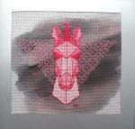 Geometic unicorn_xstitch by Zeephra