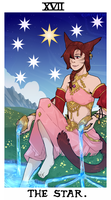 tarot comm - star by corycatte