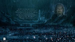 Helm's Deep: 'The Wanderer' by mincus38
